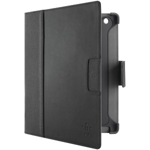 iPad(R) with Retina(R) display-iPad(R) 3rd Gen-iPad(R) 2 Executive Leather Folio with Screen Protection