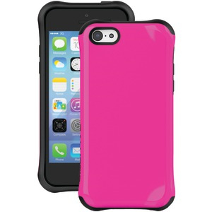 iPhone(R) 5c Aspira Series Case (Painted Neon Hot Pink-Black)