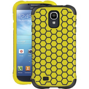 Samsung(R) Galaxy S(R) 4 Aspira Series Case (Lemon Yellow-Dark Charcoal)