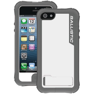 iPhone(R) 5 Every1 Case with Holster (Light Charcoal-White PC)
