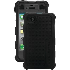 iPhone(R) 4-4S Hard Core(R) Series Case with Holster (Black-Gray)