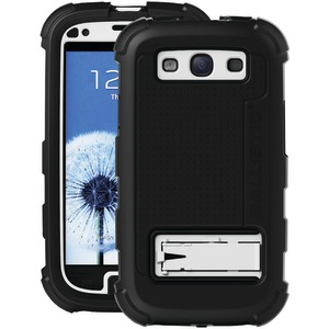 Samsung(R) Galaxy S(R) III Hard Core Case with Holster (Black-White)