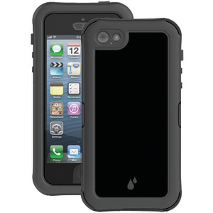 iPhone(R) 5-5s Hydra Series Waterproof Case with Holster (Black-Charcoal)