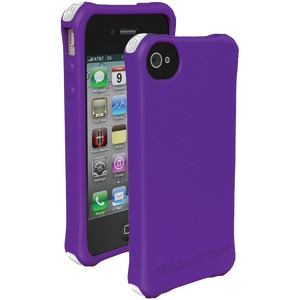 iPhone(R) 4-4S LS Smooth Case (Purple; 4 White 4 Purple 4 Black 4 Teal Bumpers)