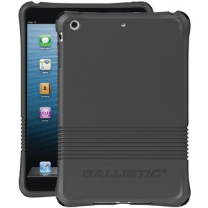 iPad mini(TM) LS Series Case (Charcoal Gray with Orange Charcoal Gray Black Teal Bumpers)