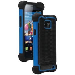 Samsung(R) Galaxy S(R) II for AT&T(R) SG Case (Black-Blue)