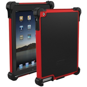 iPad(R) with Retina(R) display-iPad(R) 3rd Gen-iPad(R) 2 Tough Jacket(TM) Case (Red-Black)
