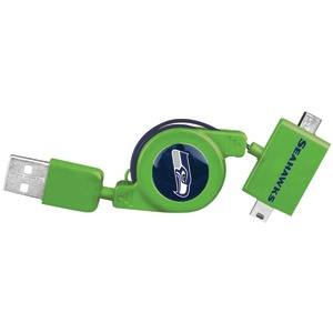 Mini-Micro Retractable Cable (Seattle Seahawks(R))