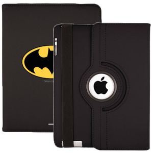 iPad(R) with Retina(R) display-iPad(R)3rd Gen Swivel Stand Case (Batman(R) Emblem)