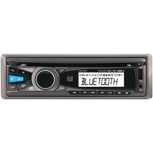 DUAL Single-DIN In-Dash CD Receiver with Bluetooth(R) & iPhone(R)-iPod(R) Control XDMA550BT