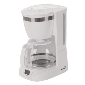BRENTWOOD(R) APPLIANCES 10-Cup Digital Coffee Maker (White) TS-219W