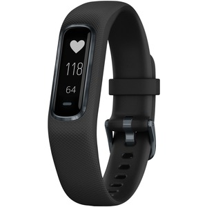 GARMIN(R) vivosmart(R) 4 Activity Tracker (Black with Midnight Hardware, Small/Medium Wrists) 010-01995-10