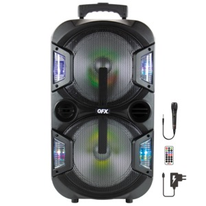 QFX(R) 2 x 10-Inch Portable Party Speaker PBX-210