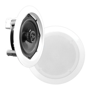 PYLE(R) In-Wall/In-Ceiling 6-1/2 Inch 2-Way Speakers PDIC61RD
