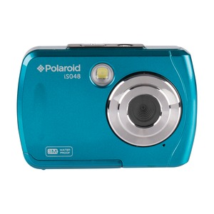 POLAROID(R) 16.0 Megapixel Waterproof Instant Sharing Digital Camera IS048-TEAL