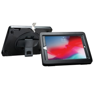 Kickstand Handgrip Case for iPad(R) with Security Enclosure Jacket