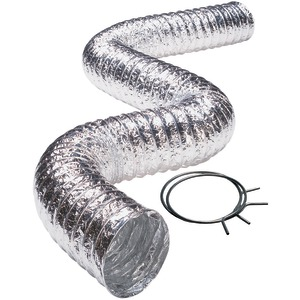 DEFLECTO(R) Aluminum Duct (2-ply; 5ft; UL(R) 181 Class 1) FLXC0405