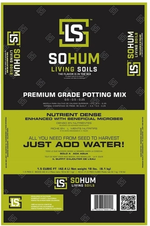 SOHUM Living Soil 1.5 Cu.ft.