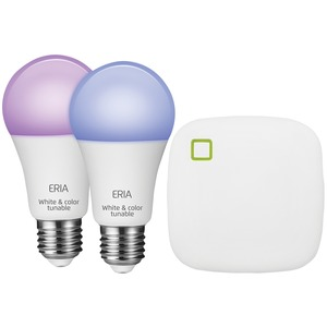 A19 Colors and White Shades Smart Light Starter Kit