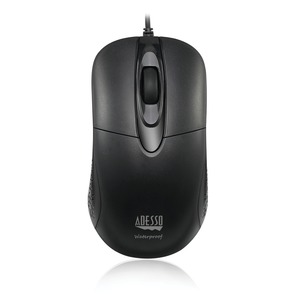 ADESSO(R) iMouse W4 Anti-Microbial Waterproof Optical USB Mouse IMOUSE W4