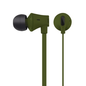 JIVE Noise Isolating Earbuds with In-line Microphone (Green)