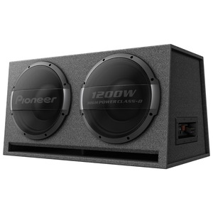 PIONEER(R) Dual 12-Inch Ported Enclosure Powered Subwoofer TS-WX1220AH