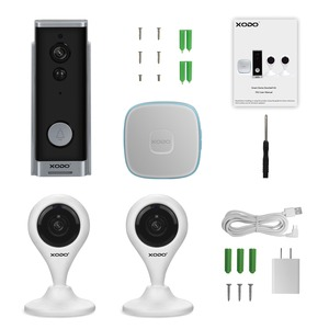 PK2 Wi-Fi(R) Smart Home Security System Kit