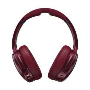 Crusher ANC(TM) Personalized Noise Canceling Headphones (Deep Red)