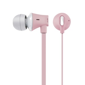 JIVE Noise Isolating Earbuds with In-line Microphone (Pink)