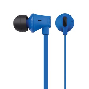 JIVE Noise Isolating Earbuds with In-line Microphone (Blue)