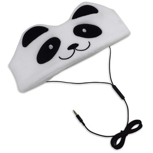 CONTIXO H1 Kid's Fleece Headphones (Panda) H1-PANDA