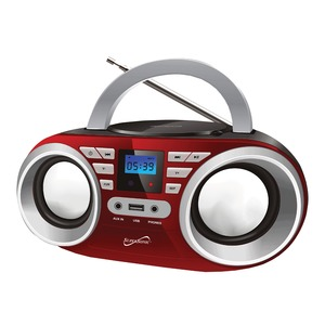 Portable Audio System (Red)