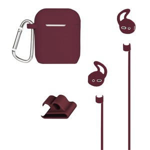 AirPods(R) Case and Accessories Kit (Maroon)