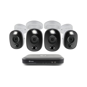 4K Surveillance System Kit with 8-Channel 2 TB DVR and Four 4K Cameras