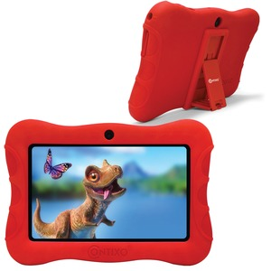 7-Inch Kids Tablet with 16 GB Storage (Red)