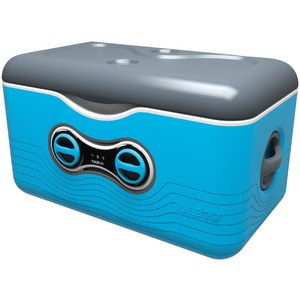 47.5-Quart Cooler with Removable Bluetooth(R) Speaker (Blue)