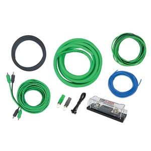 X-Treme Green Series 0-Gauge ANL Amp Installation Kit
