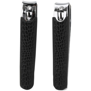 Nail Clipper Dual Pack (Black)