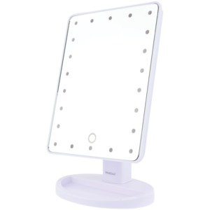 22-LED Lighted Vanity Mirror (White)