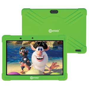 10-Inch Kids Tablet Kids Tablet with Protective Case and 16 GB Storage (Green)