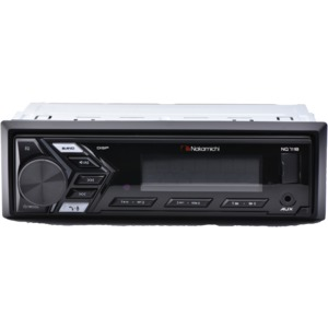 NAKAMICHI(R) Single-DIN In-Dash Mechless Digital Media Receiver with Bluetooth(R) NM-NQ711B