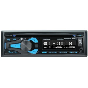 DUAL(R) Single-DIN In-Dash CD Receiver with Bluetooth(R) XDM280BT