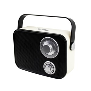Retro Design Bluetooth(R) Speaker (Black)