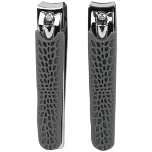 Nail Clipper Dual Pack (Gray)
