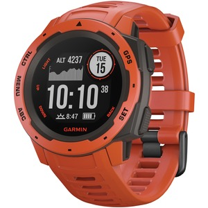Instinct(TM) GPS Watch (Flame Red)