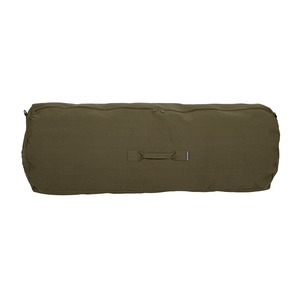 50 Inch Zippered Canvas Deluxe Duffel Bag (Olive Drab Green)