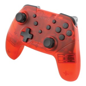 NYKO(R) Wireless Core Controller for Nintendo Switch(TM) (Red) 87261