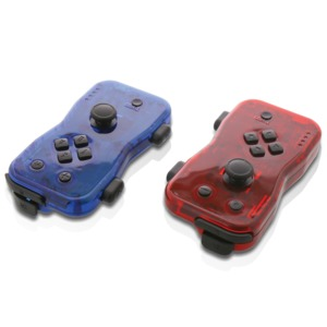 NYKO(R) Dualies Motion Controller Set for Nintendo Switch(TM) (Red and Blue) 87268