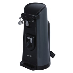 Tall Electric Can Opener with Knife Sharpener and Bottle Opener
