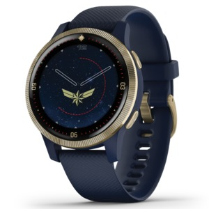 GARMIN(R) Legacy Hero Series Smartwatch, Captain Marvel(TM) 010-02172-41